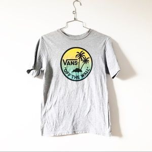 VANS off the wall perfect graphic t-shirt -grey